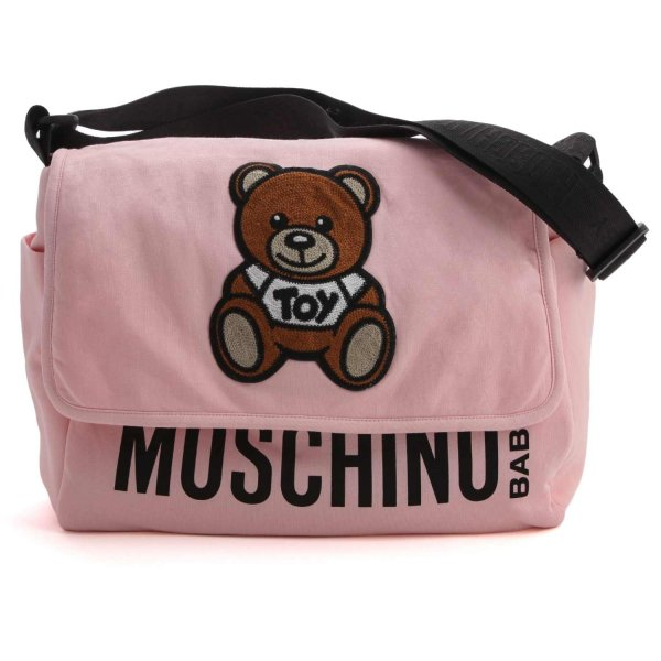 Moschino - TEDDY BEAR PINK MOMMY BAG