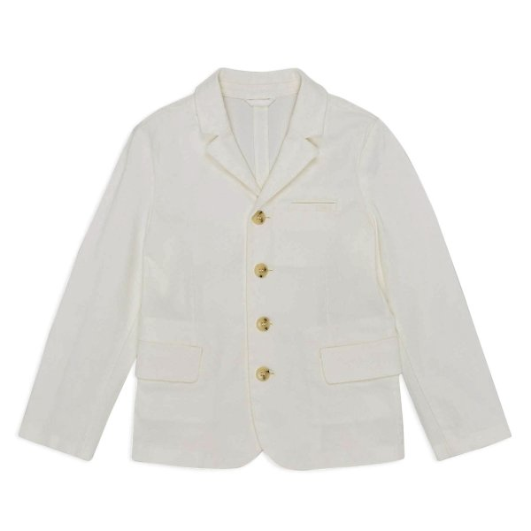 Armani Junior - WHITE BLAZER FOR BOYS