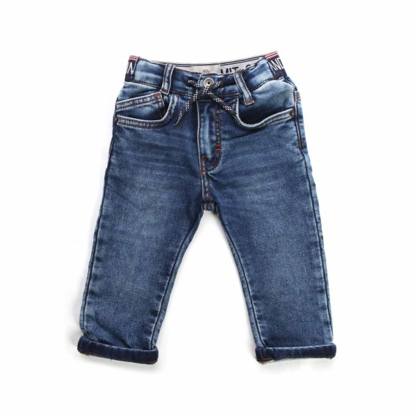 Timberland - LOGO JEANS FOR BABY BOYS