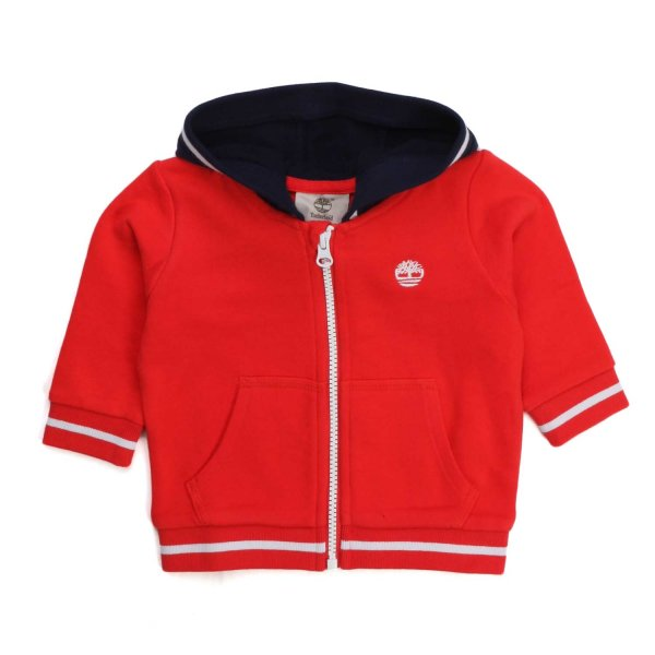 Timberland - RED SWEATSHIRT FOR BABY AND NEWBORN