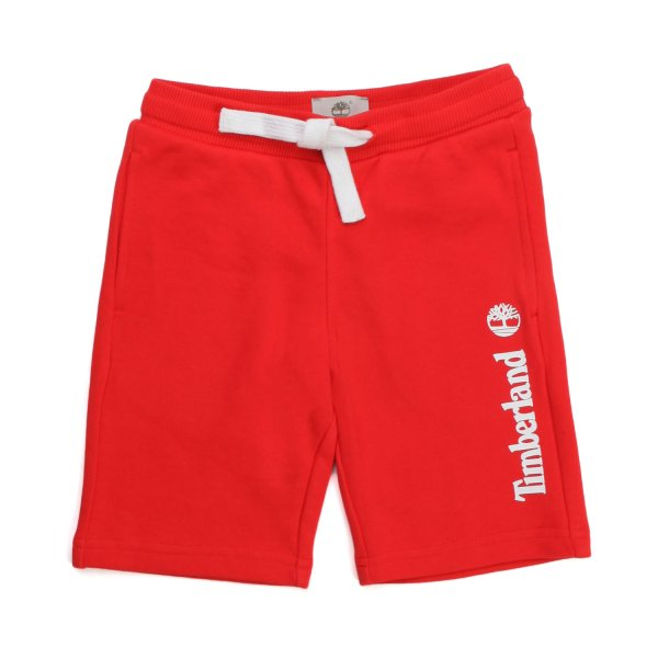 Timberland - RED BERMUDA IN JERSEY FOR CHILDREN AND TEEN