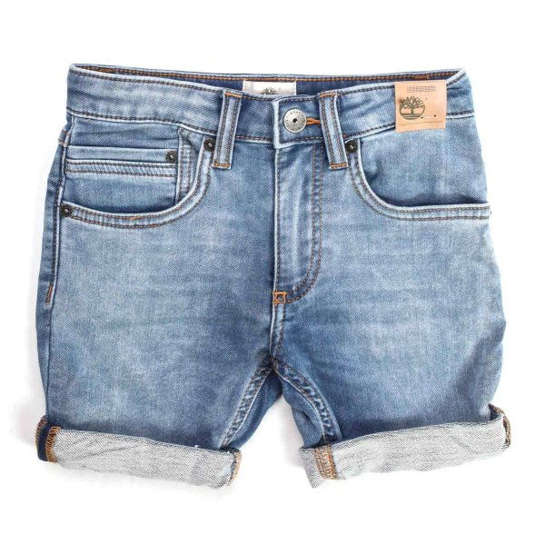Timberland - DENIM BERMUDA FOR CHILDREN AND TEEN