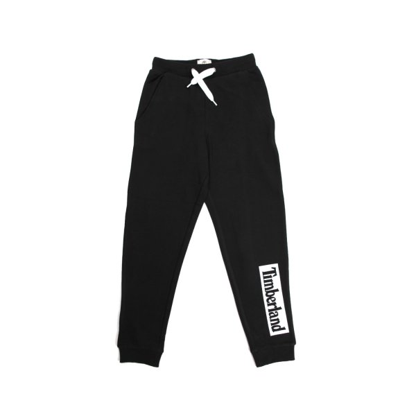 Timberland - BLACK JOGGING PANTS FOR CHILDREN AND TEEN