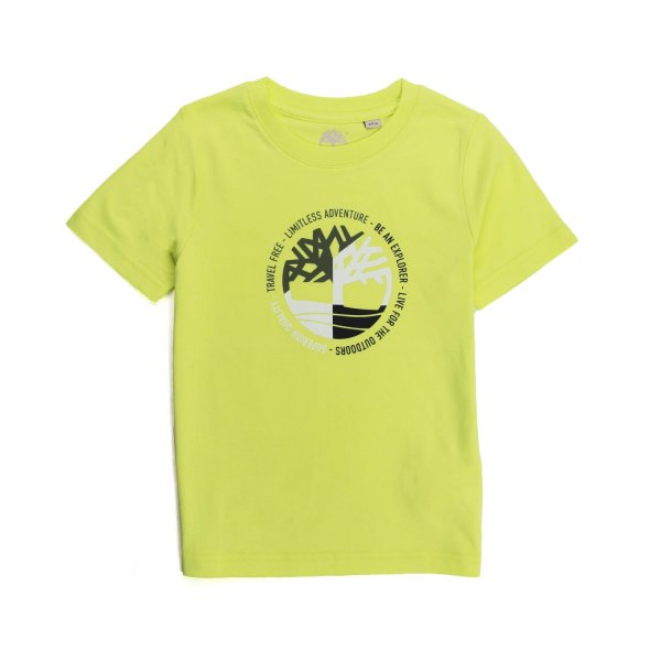Timberland - YELLOW CITRINE T-SHIRT FOR CHILDREN AND TEEN