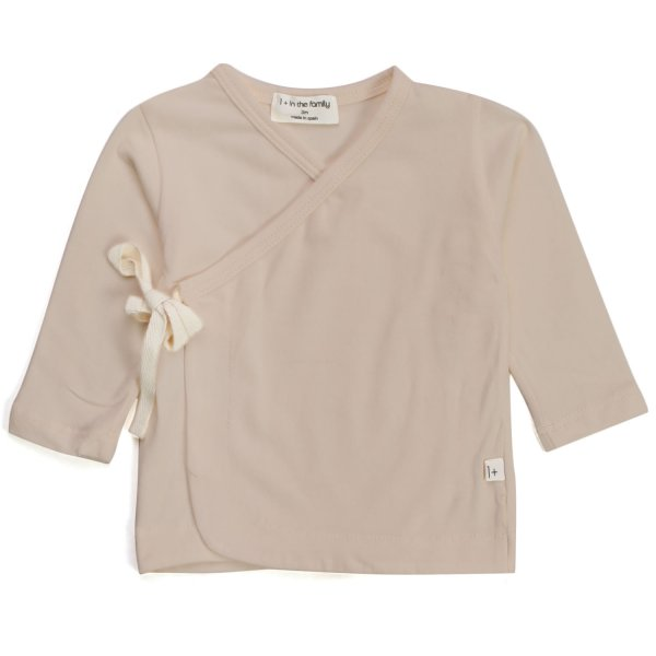 One More In The Family - T-SHIRT LUNGA COLOR NUDE NEONATA