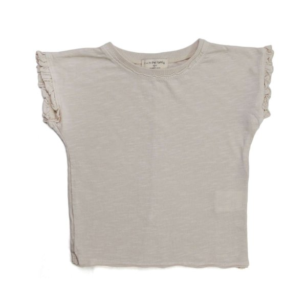 One More In The Family - T-SHIRT BEIGE BIMBA