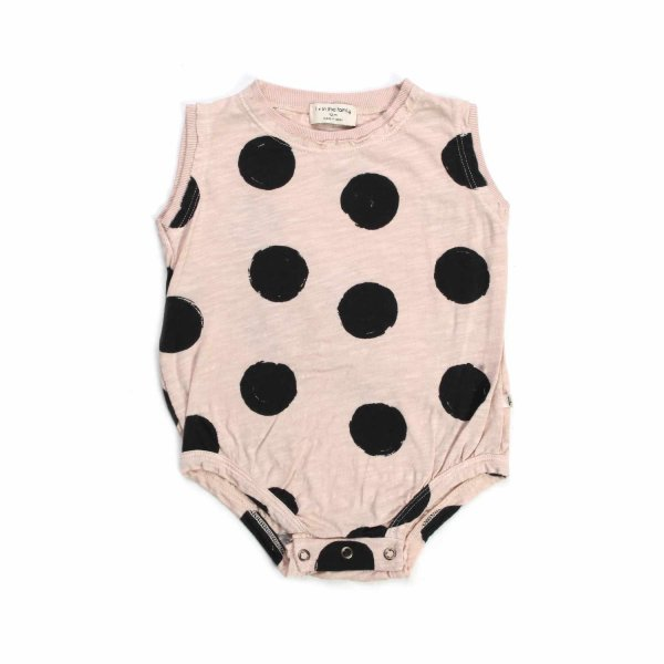 One More In The Family - CREAM BODY WITH POLKA DOTS FOR BABY GIRLS