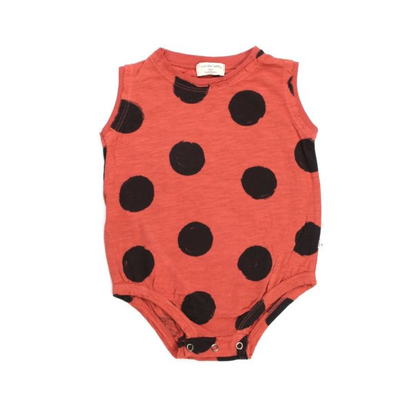 One More In The Family - POLKA DOT BODYSUIT FOR BABY