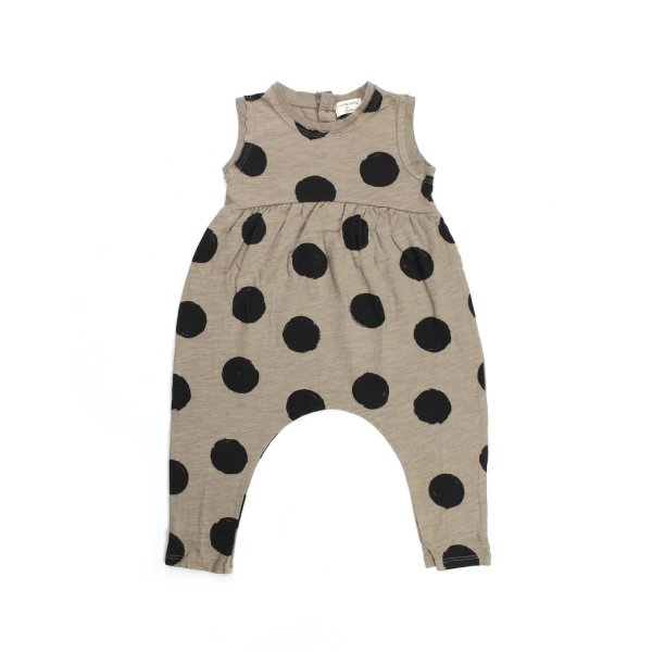 One More In The Family - POLKA DOT OVERALLS FOR BABY