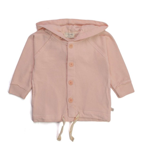 One More In The Family - BABY PINK HOODIE