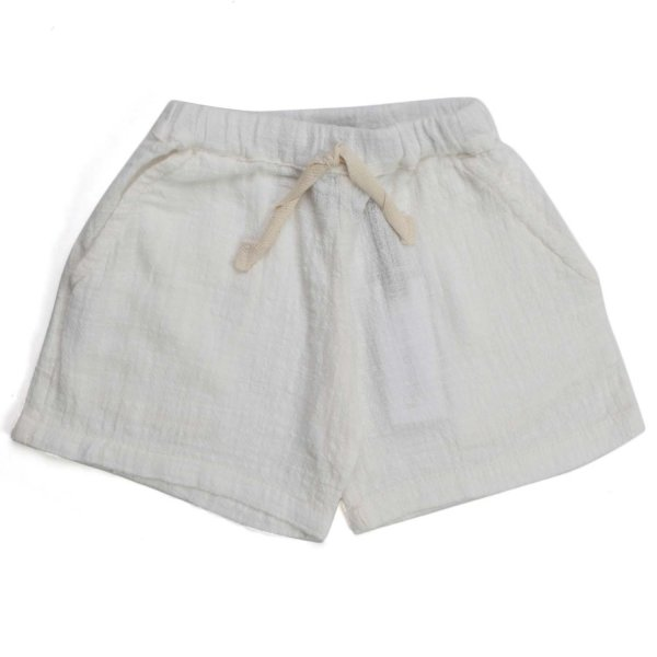 One More In The Family - SHORTS BIMBA BIANCHI