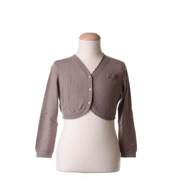 Twin-Set - CARDIGAN CORTO BEIGE