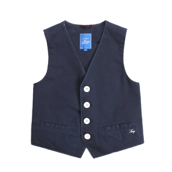 Fay Junior - BLUE VEST FOR LITTLE BOY