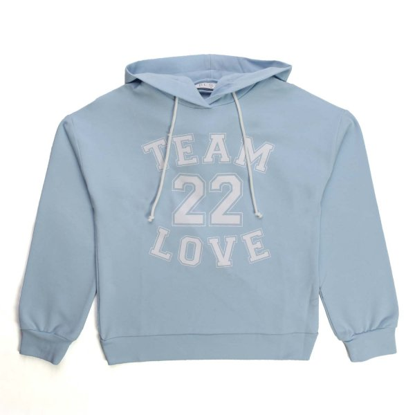 Elsy - LIGHT BLUE HOODIE FOR GIRL AND TEEN