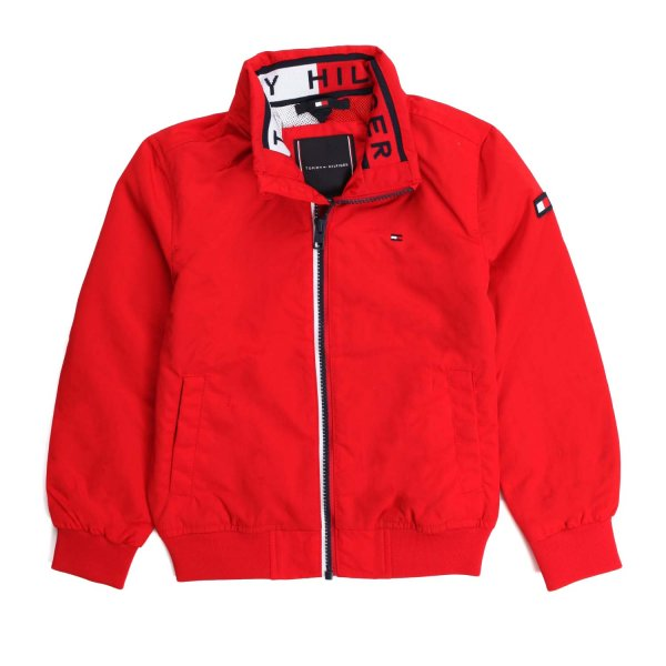 Tommy Hilfiger - BOY AND TEEN RED JACKET