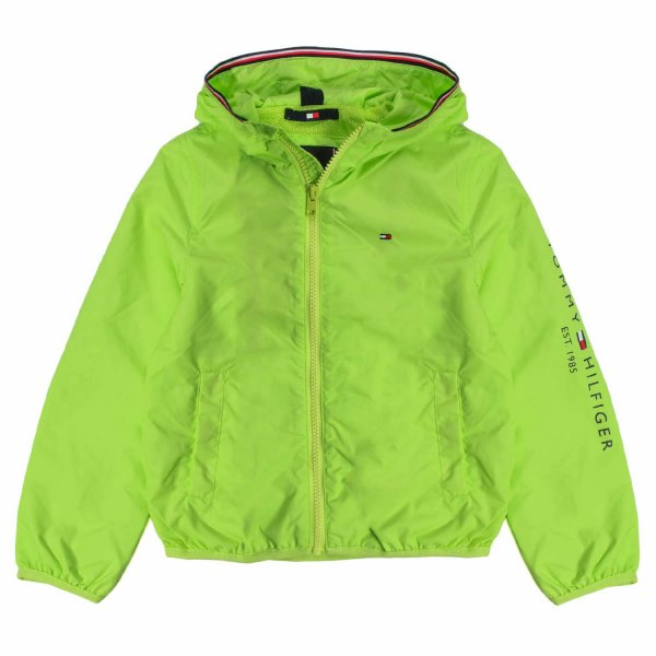 Tommy Hilfiger - BOY FLUO GREEN JACKET