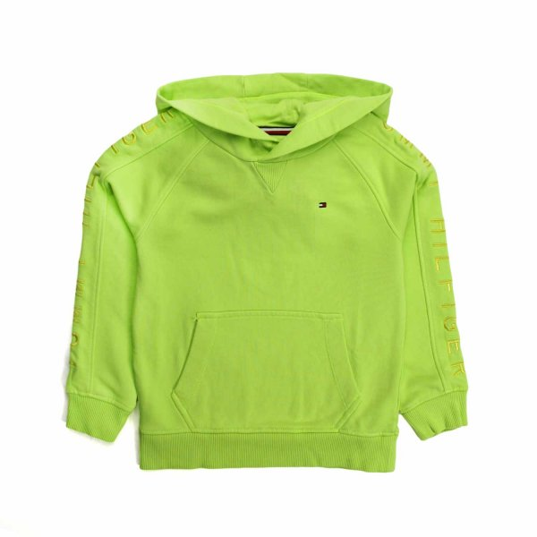 Tommy Hilfiger - FLUO GREEN HOODIE FOR BOYS
