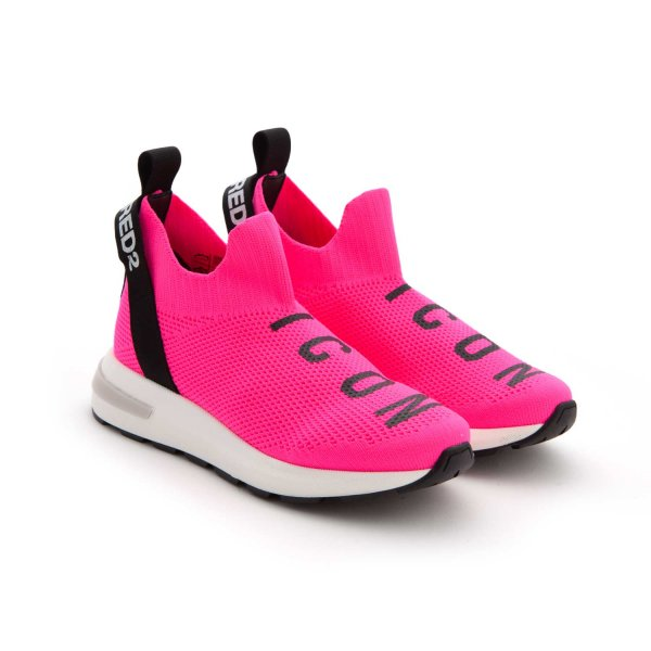 Dsquared2 - SNEAKERS ROSA FLUO BAMBINA TEEN