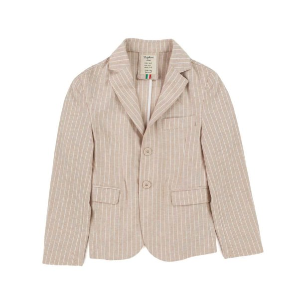 Nupkeet - BOY STRIPED BEIGE JACKET