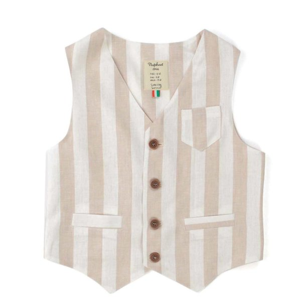 Nupkeet - STRIPED VEST FOR BOY