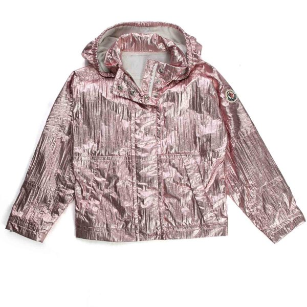 Moncler - Pink Metal Waterproof Jacket