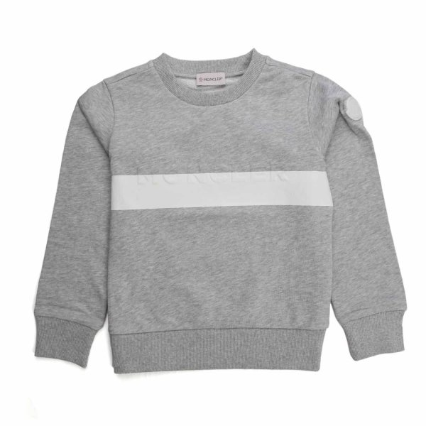 Moncler - GREY COTTON SWEATSHIRT