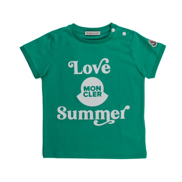 Moncler - Baby T-Shirt Love Summer Logo