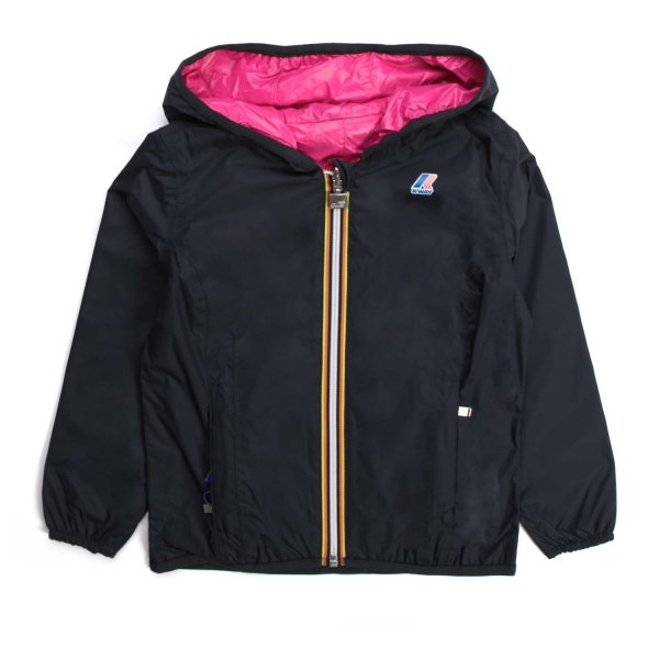 K-Way - GIRL BLUE LILY PLUS DOUBLE JACKET