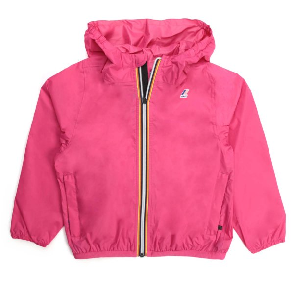 K-Way - LE VRAI 3.0 FUCHSIA JACKET FOR GIRL