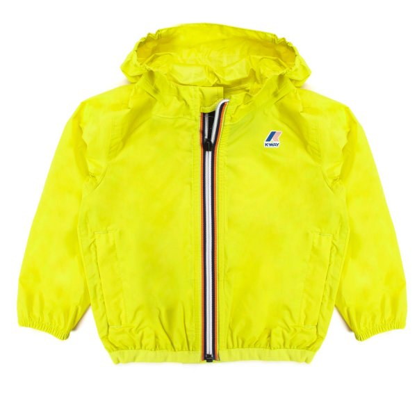 K-Way - BABY LIME GREEN CLAUDINE JACKET