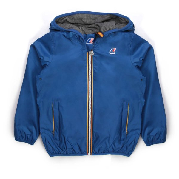 K-Way - UNISEX BLUE JACQUES JACKET