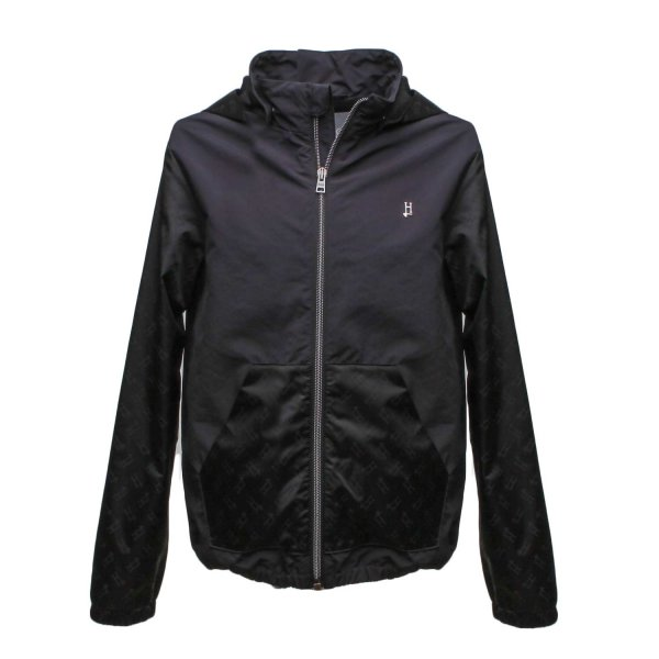 Herno - BLACK BOMBER STYLE JACKET FOR CHILDREN AND TEEN