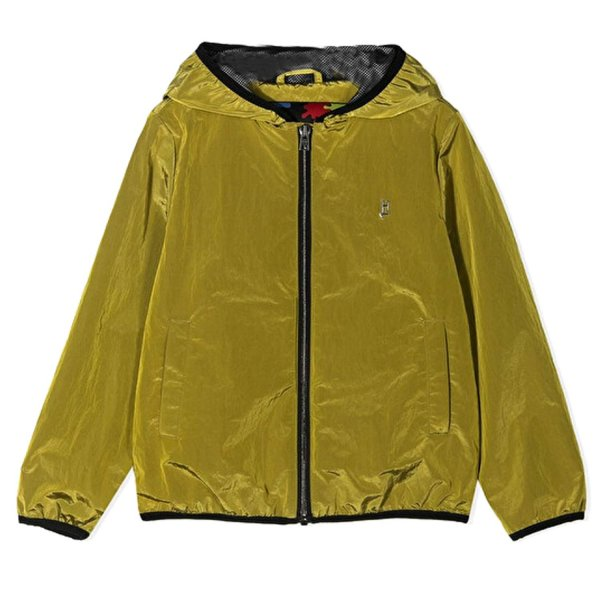 Herno - UNISEX ACID GREEN BOMBER JACKET