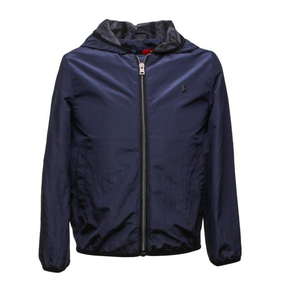 Herno - BLUE BOMBER STYLE JACKET FOR CHILDREN AND TEEN