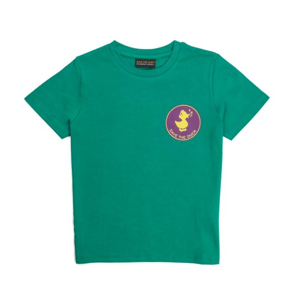 Save The Duck - T-SHIRT VERDE UNISEX