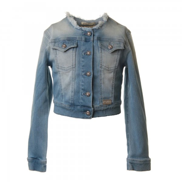 Met - Giacca Denim Bentley Indaco