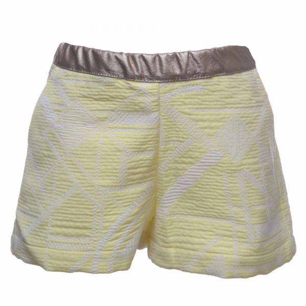 Simple Kids - Shorts bambina Els Sweetie giallo sole