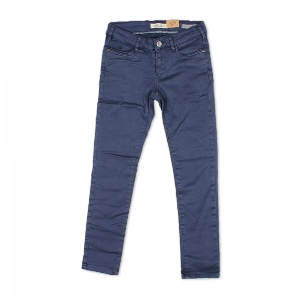 Scotch & Soda - Pantaloni skinny fit a 5 tasche color navy