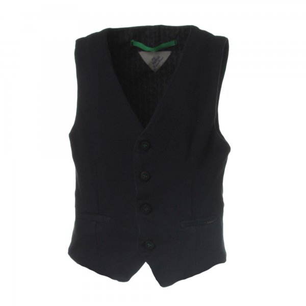 Myths - Gilet Blu navy in cotone