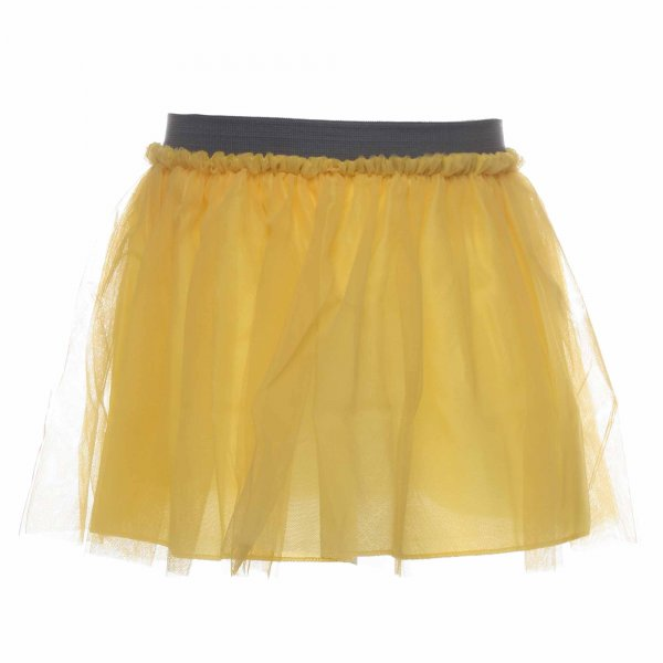 Dreamers - Gonna bambina in tulle giallo