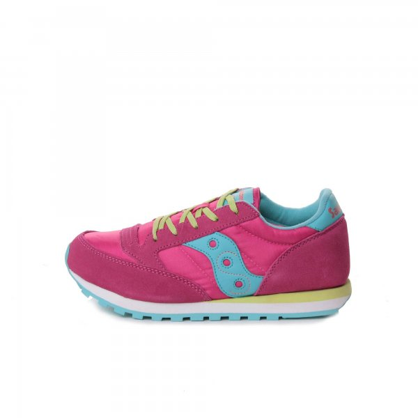 Saucony - Sneaker Jazz Original Girl rosa turchese lime teen