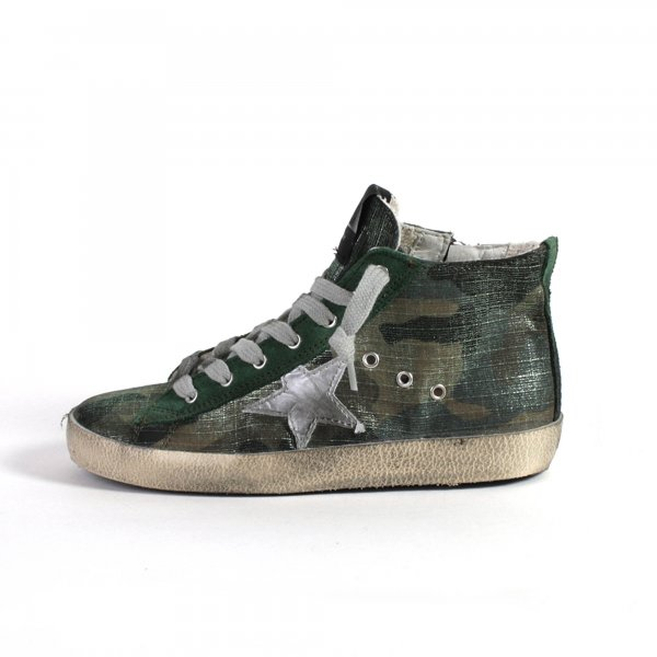Golden Goose - SNEAKERS FRANCY CAMOUFLAGE JUNIOR