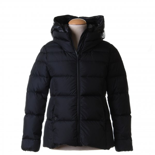 Herno - PIUMINO GIRL BLU SCURO POLAR TECH