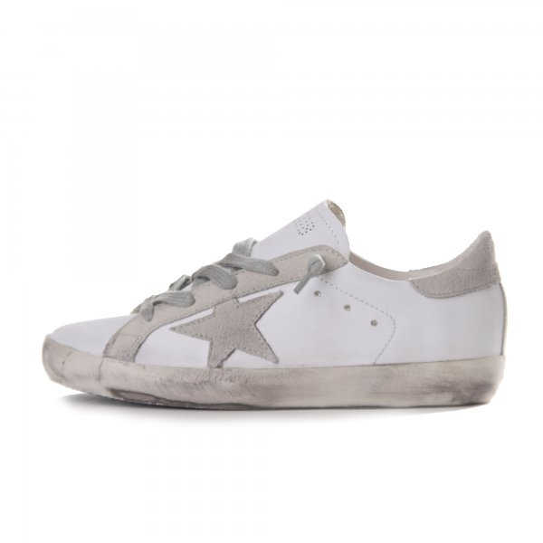 Golden Goose - Sneaker Superstar pelle bianca