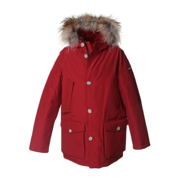 Woolrich - ARCTIC PARKA BOY ROSSO