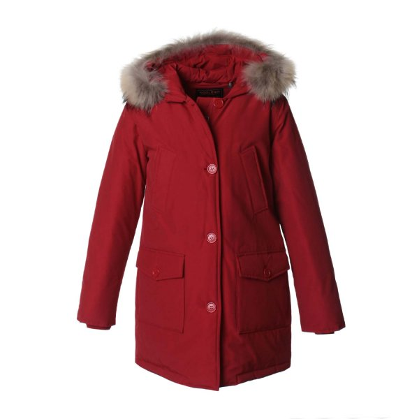 Woolrich - GIRL ARCTIC PARKA ROSSO