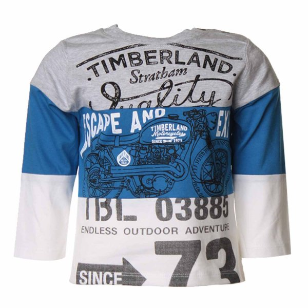 Timberland - T-SHIRT BABY CON STAMPE