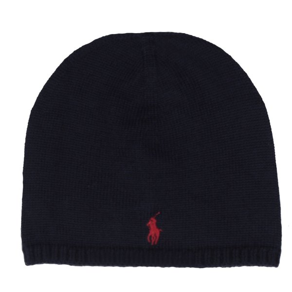 Ralph Lauren - CAPPELLO BLU NAVY KIDS