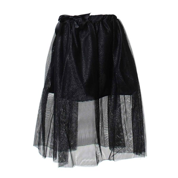 Dreamers - Gonna tulle nero argento