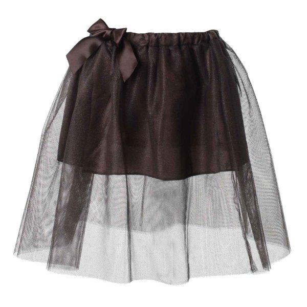 Dreamers - GONNA BAMBINA TULLE MARRONE
